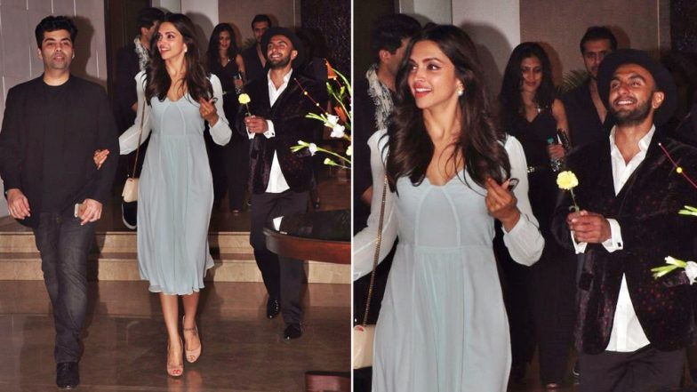 When Ranveer Singh Followed Deepika Padukone With All the Love in His Eyes and the Iconic Flower in His Mouth