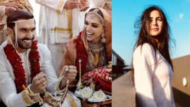 Deepika Padukone-Ranveer Singh Wedding: Katrina Kaif Comments on Couple's 'First' Pictures
