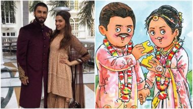 Deepika Padukone Weds Ranveer Singh: Amul Congratulates the Power Couple on Their Wedding in Its Unique Way – View Pic