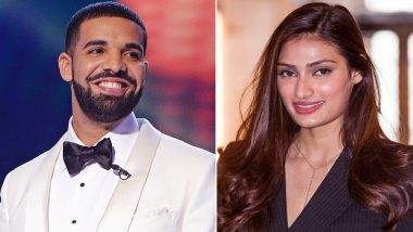 'Good Friend' Drake Wishes Athiya Shetty on Her Birthday; Reveals He Has Watched Mubarakan 3 Times!