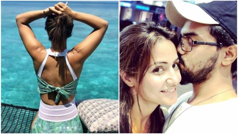 Hina Khan and Rocky Jaiswal Maldives Vacay Pictures Will Make You Go Green With Envy