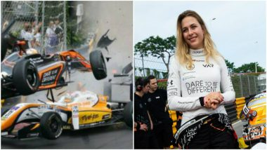 German Teen Racer Meets Horrifying Crash at Formula Three Macau Grand Prix (Watch Video)