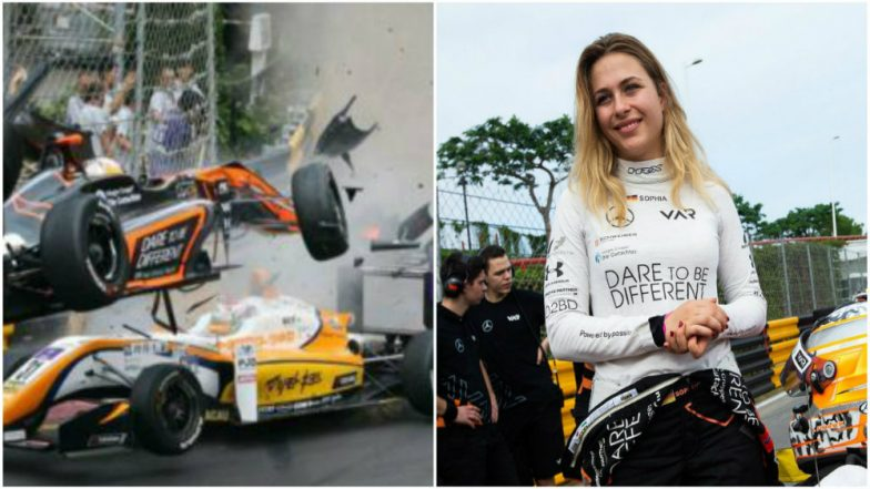German Teen Racer Meets Horrifying Crash at Formula Three Macau Grand Prix (Watch Video)