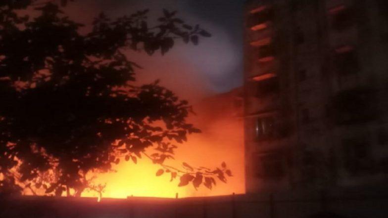Mumbai: Level 2 Fire Breaks Out in Andheri's Navpada