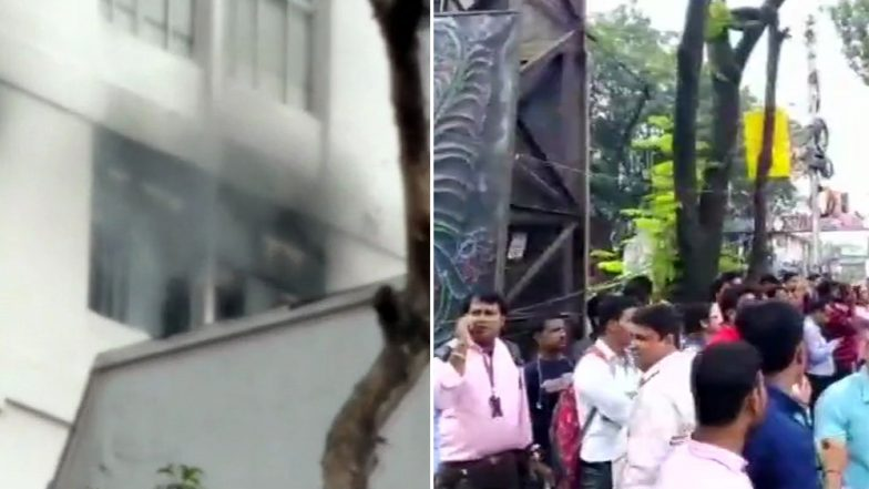 Kolkata: Fire Breaks Out in Apeejay House in Park Street, 10 Fire Engines at Spot