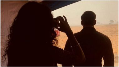 Bharat: Katrina Kaif Turns Photographer for Salman Khan, Clicks a Candid Picture of the Actor – View Pic