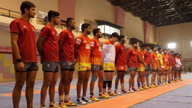 Gujarat FortuneGiants vs Bengaluru Bulls, PKL 2018–19, Qualifier 1 Match Live Streaming and Telecast Details: When and Where to Watch Pro Kabaddi League Season 6 Match Online on Hotstar and TV?