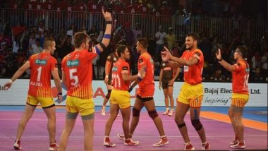 PKL 2018-19 Video Highlights: Gujarat FortuneGiants get Past Patna Pirates 37-29