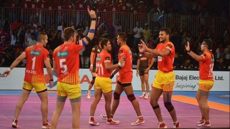 PKL 2018-19 Match Highlights: Gujarat Fortune Grants Hammer Patna Pirates to Book Play-off Berth