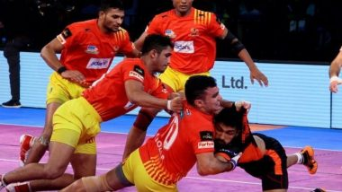 Gujarat FortuneGiants vs U Mumba, PKL 2018-19 Match Live Streaming and Telecast Details: When and Where To Watch Pro Kabaddi League Season 6 Match Online on Hotstar and TV?