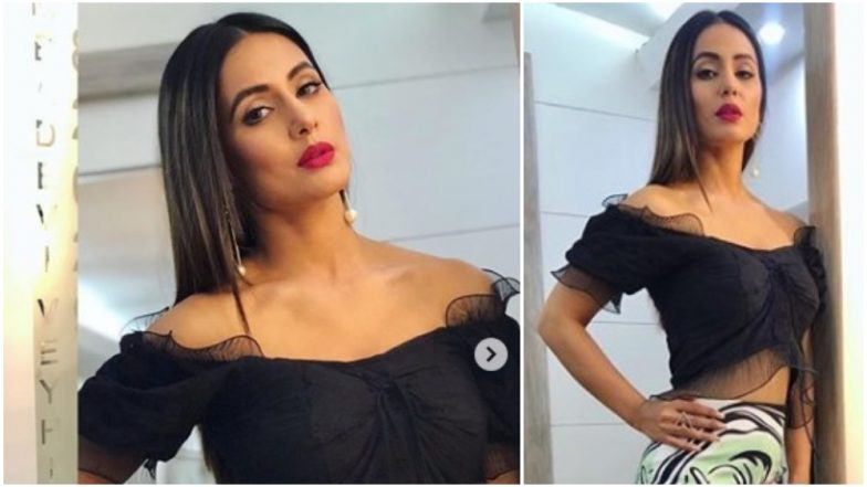 Hina Khan's Look for Bigg Boss 12 Weekend Ka Vaar Episode Is Stunning and We Can't Stop Drooling Over Her – View Pic