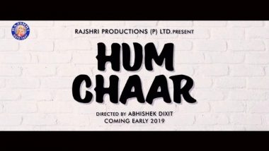 Hum Chaar: Rajshri Productions Continues its 71 Year Old Legacy, Announces a Brand New film on Friendship