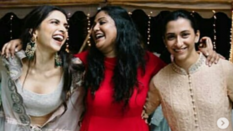 Deepika Padukone With Her Gang Of Girls Before Her Mumbai Wedding Reception: View Candid Pic!