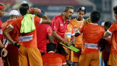 Hockey World Cup 2018: India Coach Harendra Singh Irks FIH for Raising Questions on Umpiring