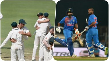 India vs Australia 2018-19 Schedule & Time Table in PDF for Download in IST: List of T20Is, Tests & ODI Matches; Full Fixtures with Match Timings of IND vs AUS Series