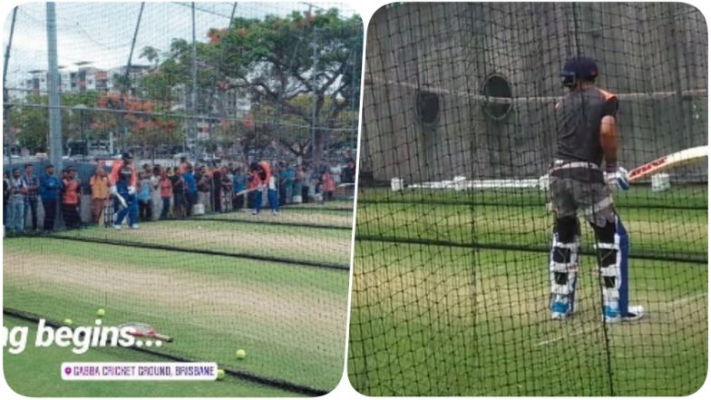 India vs Australia 2018: Indian Cricket Team Hits the Nets Ahead of the First T20 Match (See Pics & Videos)