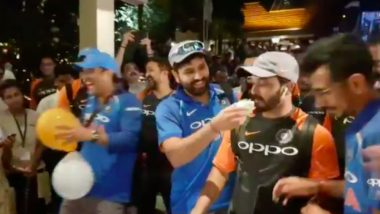 Watch How Indian Cricket Team Celebrated Series Win Over Windies