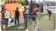 Virat Kohli Fires Warning to Aaron Finch & Men Ahead of 1st ODI 2020, Slams Towering Sixes in the Nets (Watch Video)