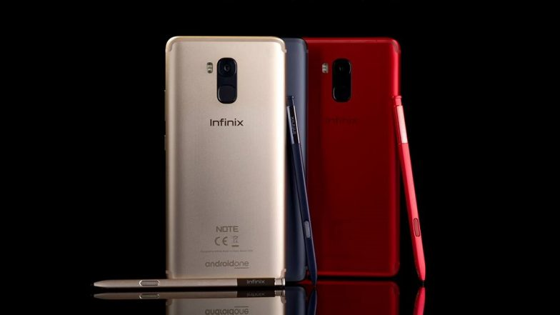 Infinix Note 5 Stylus Android One Smartphone Launched; Priced in India at Rs 15,999