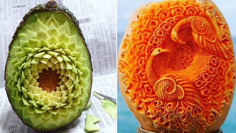 Stunning Photos of Thai Fruit Carving Tradition Are a Sight to Behold! (View Pics)