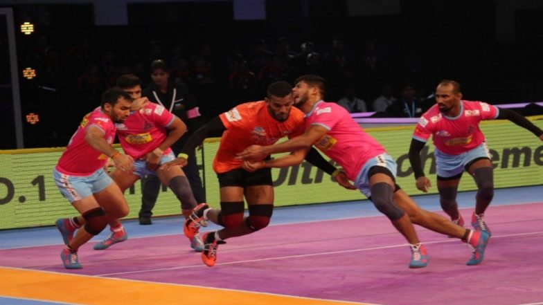 Jaipur Pink Panthers vs Gujarat Fortunegiants, PKL 2018-19 Match Live Streaming and Telecast Details: When and Where To Watch Pro Kabaddi League Season 6 Match Online on Hotstar and TV?