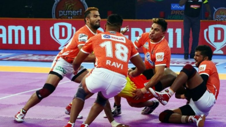 Jaipur Pink Panthers vs Puneri Paltan, PKL 2018-19 Match Live Streaming and Telecast Details: When and Where To Watch Pro Kabaddi League Season 6 Match Online on Hotstar and TV?