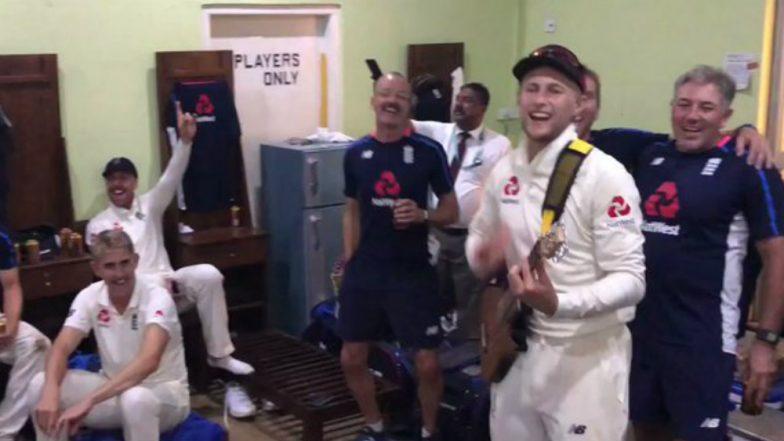 Joe Root Turns Guitarist As England Clean Sweep Sri Lanka in Three-Match Test Series, Watch Video