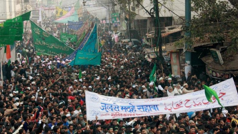 Eid-e-Milad 2018 Celebrations: Procession to be Taken Out Under Drone Surveillance in Lucknow