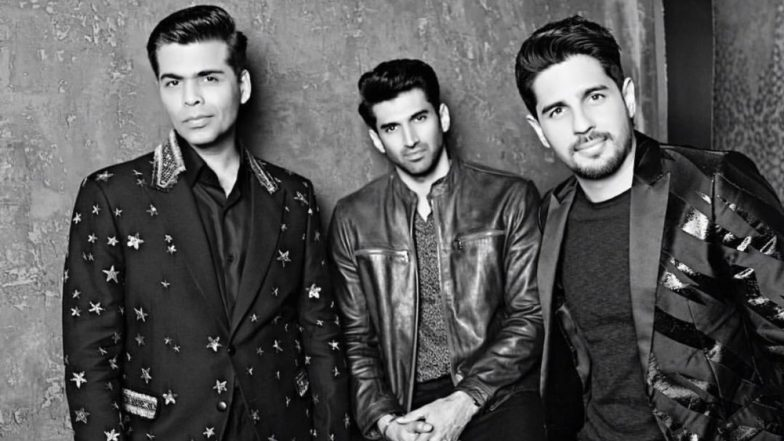 Koffee With Karan 6: Sidharth Malhotra and Aditya Roy Kapur Come Together to Sip Coffee and Spill the Tea – View Pics