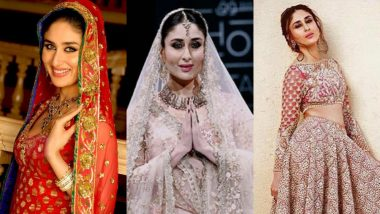 Kareena Kapoor And  Dresses Here Are All The Bridal Looks That