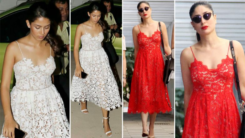 Kareena Kapoor Khan Borrows Shahid Kapoor's Wife, Mira Rajput's This Style but We Want You to Decide Who Nailed It Better