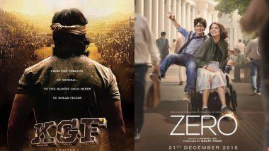 Shah Rukh Khan's Zero to Clash With Farhan Akhtar's KGF on December 21 – Read Details