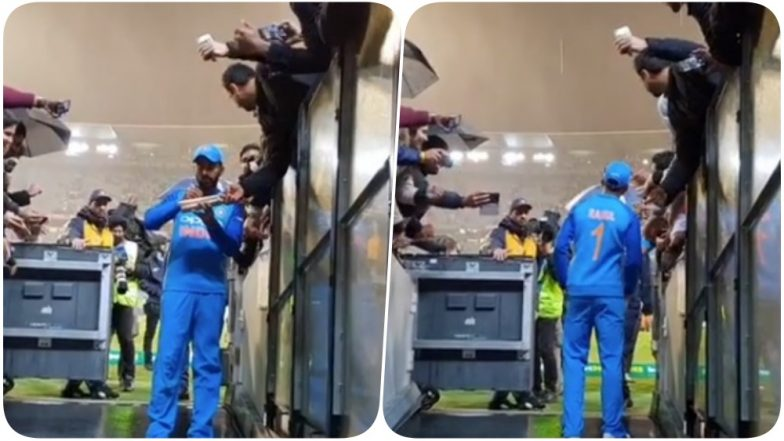 India vs Australia 2018 Video Diaries: KL Rahul Meets Fans at Melbourne Cricket Ground After 2nd T20I