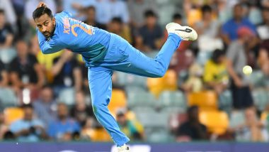 Krunal Pandya Resumes Outdoor Training, Says 'Feels Good to Be Back out There Again'
