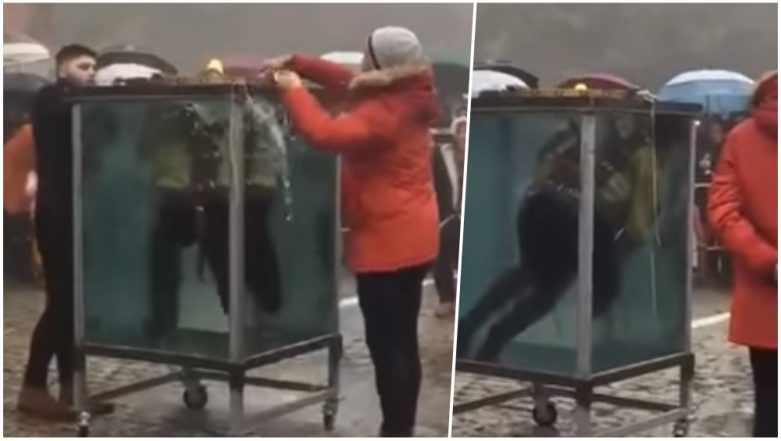 Magician's Escape Stunt Goes Wrong! Artist Rescued After Losing Consciousness in Water Tank; Watch Video