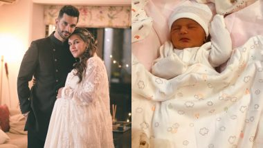 First Photo Is Here! Neha Dhupia and Angad Bedi's Daughter Mehr Is a Bundle of Joy