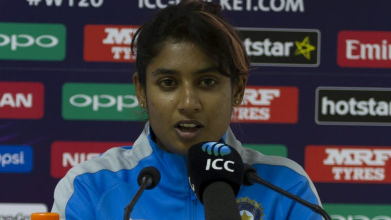 Mithali Raj is Named Goodwill Ambassador for SCCWC 2019