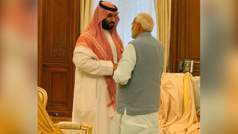 G-20 Summit: Saudi Arabia Prince Assures PM Narendra Modi to Help India to Meet Its Growing Energy Demands
