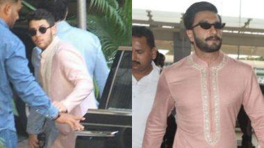 Nick Jonas or Ranveer Singh: Who Rocked The Pink Wedding Kurta Better? Vote Now