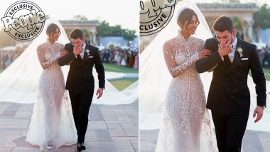 Nick Jonas' Wedding Tuxedo Had 'My Jaan' Written on His Interior Lapel Pocket, Just Over his Heart