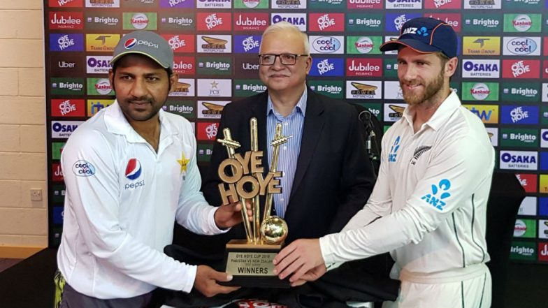 PAK vs NZ Test Series 2018: After 'Biscuit Trophy' Twitterati Make Fun of PCB for 'Oye Hoye Cup'