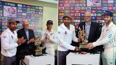 Live Cricket Streaming of Pakistan vs New Zealand 2018 on SonyLIV: Check Live Cricket Score, Watch Free Telecast of PAK vs NZ 1st Test Match, Day 1 on TV & Online