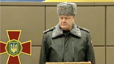 Ukraine-Russia War? Petro Poroshenko Warns of the Possibility