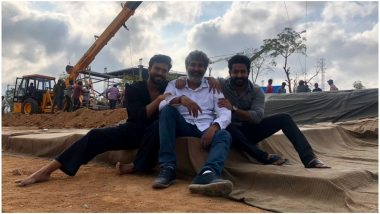 RRR: Ram Charan and Jr NTR Begin Shoot for SS Rajamouli's Upcoming Biggie - Watch Video