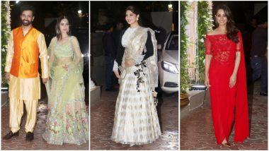 Shilpa Shetty's Diwali 2018 Bash: Jacqueline Fernandez, Anita Hassanandani and Sanjeeda Shaikh's Ethnic Outings Win Our Hearts