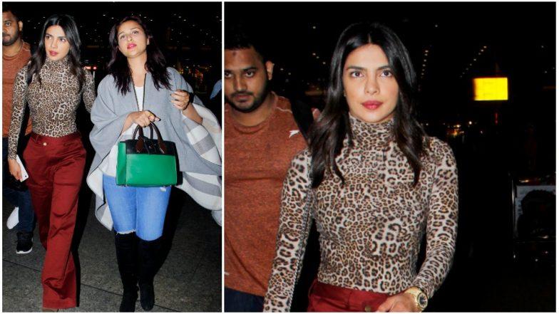 Priyanka Chopra Returns To Mumbai Just In Time Begin Her Wedding Prep See Pics