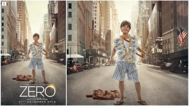 Zero New Poster: From Meerut to America, Bauua Singh's Journey Looks Intriguing