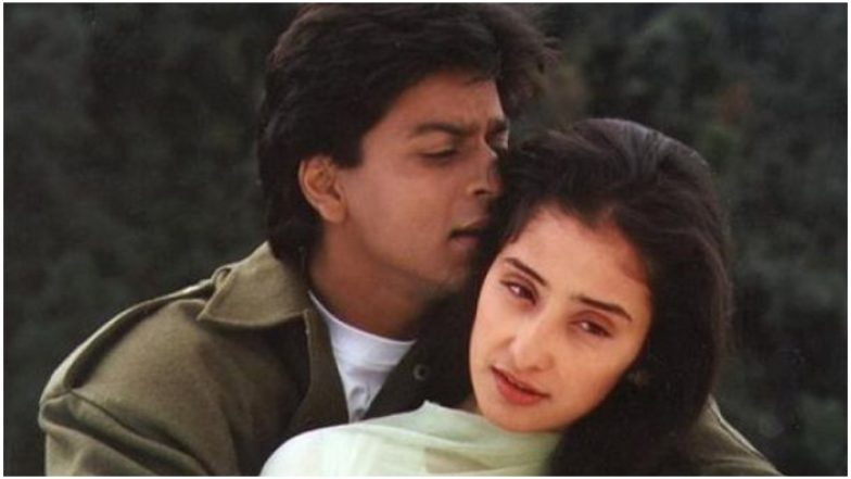 Manisha Koirala Shares a Nostalgic Picture With Shah Rukh Khan and Thanks Him For Being 'Protective'!