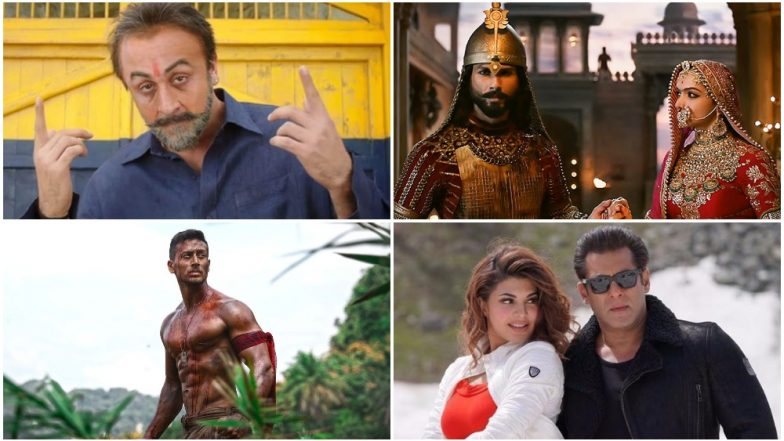 Dhanteras 2018: Ranbir Kapoor's Sanju, Deepika Padukone's Padmaavat, Salman Khan's Race 3 - 10 Biggest Hits of Bollywood That Made A Lot of Money This Year (Till Now)