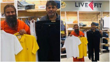 Baba Ramdev Launches Swadeshi Ripped Jeans Under Patanjali Paridhan in Delhi